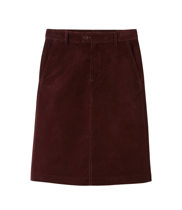 Carry skirt - GAC - Burgundy