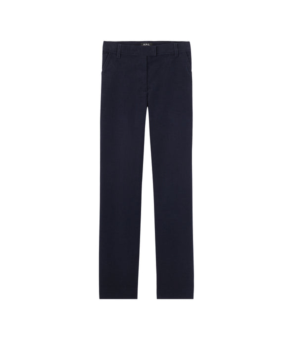 Albane pants - IAK - Dark navy blue