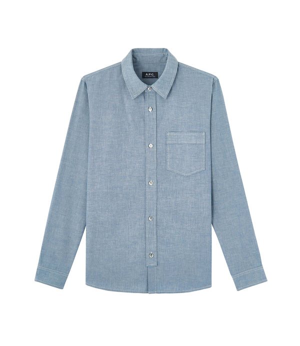 Pond shirt - IAL - Stonewashed indigo