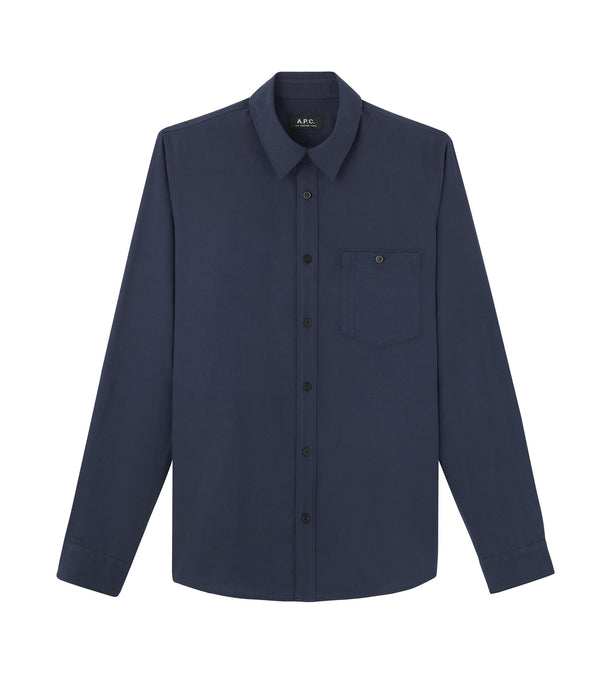 Chicago shirt - IAK - Dark navy blue
