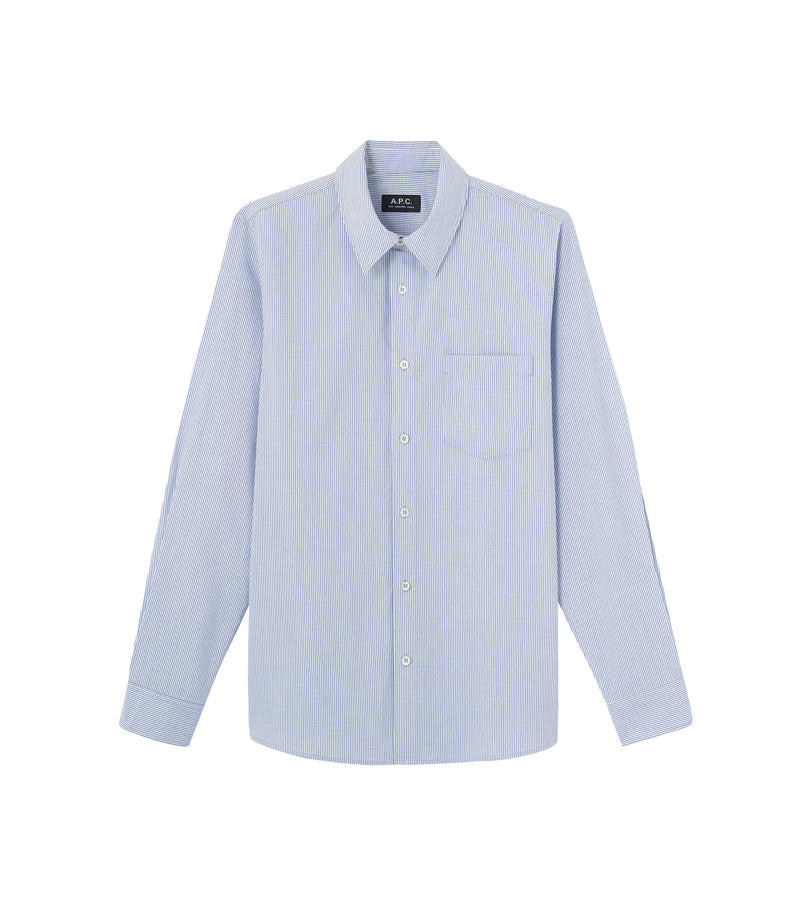 This is the Barthélemy shirt product item. Style AAB-1 is shown.