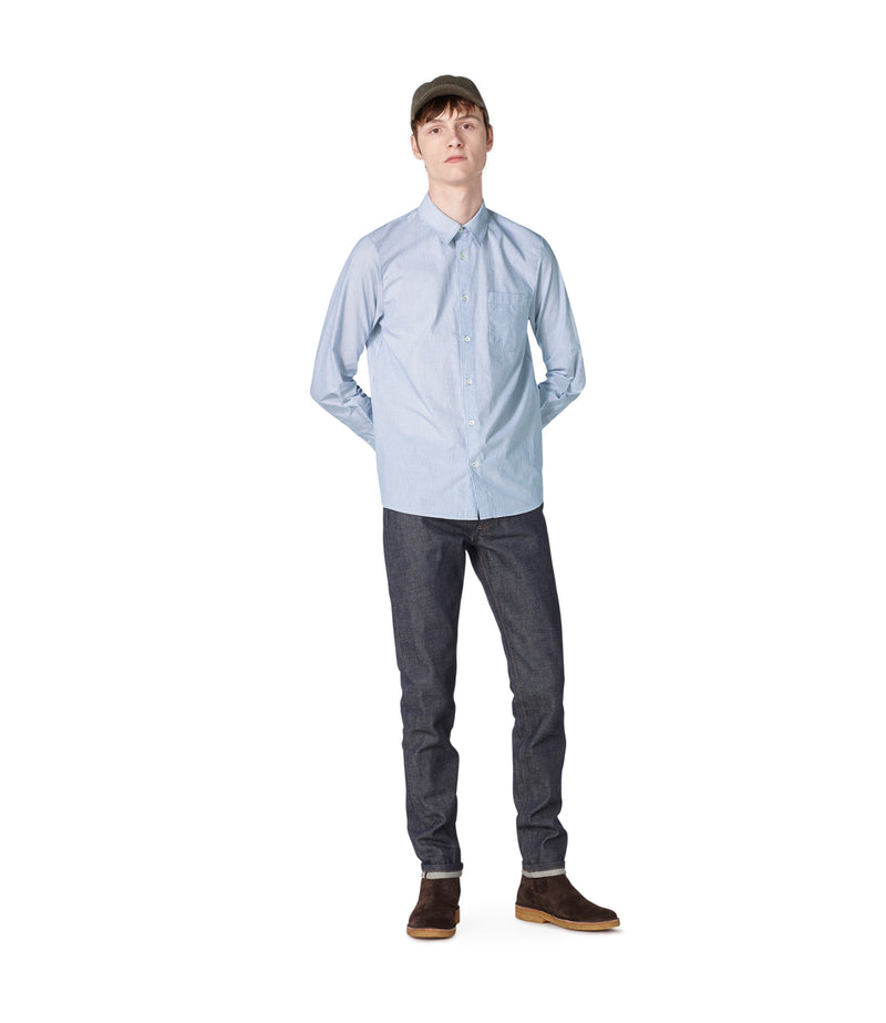 This is the Barthélemy shirt product item. Style AAB-2 is shown.