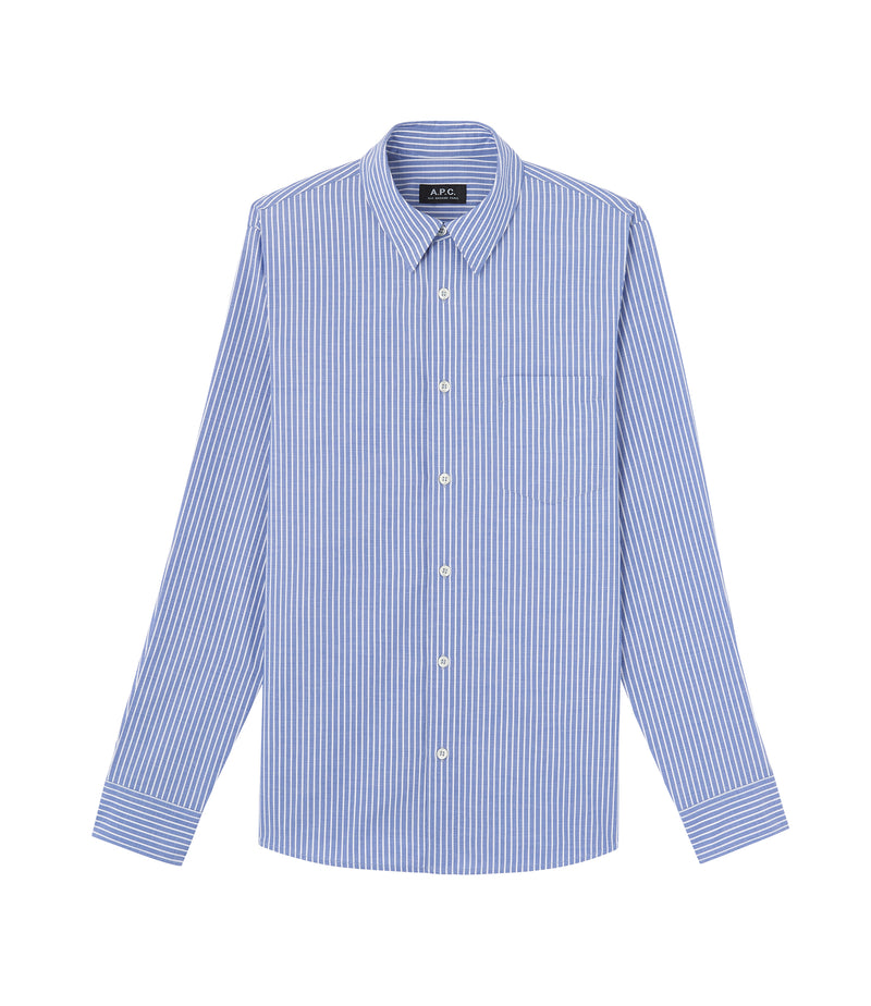 This is the Barthélemy shirt product item. Style IAJ-1 is shown.