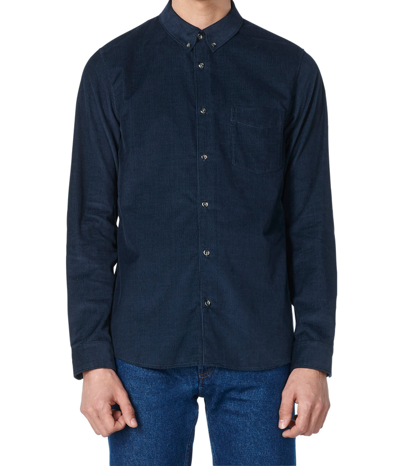 This is the Serge shirt product item. Style IAJ-2 is shown.