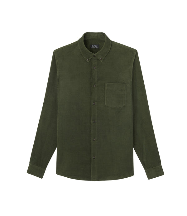 Serge shirt - KAG - Evergreen