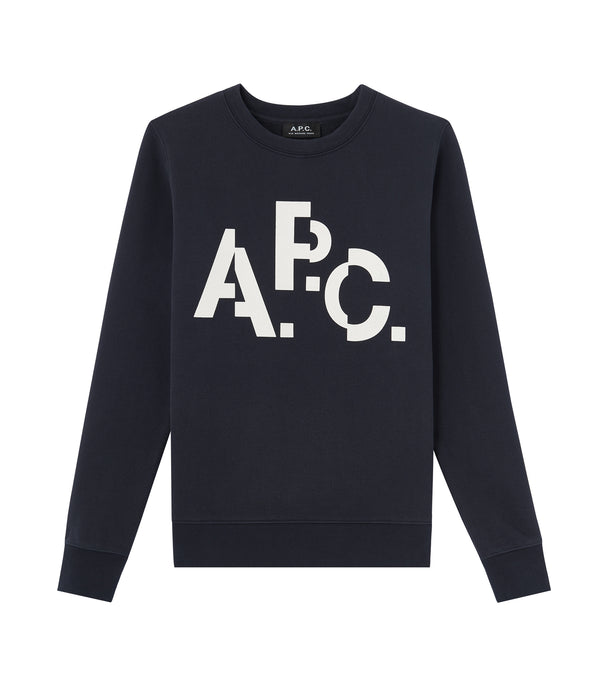 Décalé sweatshirt - IAK - Dark navy blue