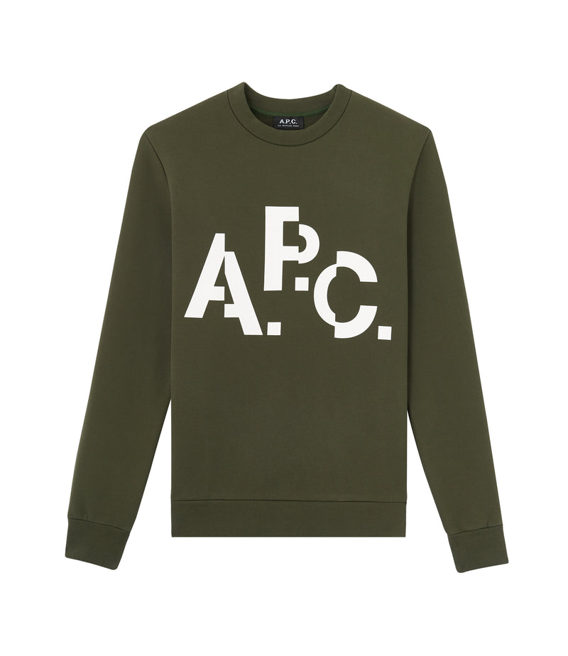 This is the Décalé sweatshirt product item. Style JAC-1 is shown.