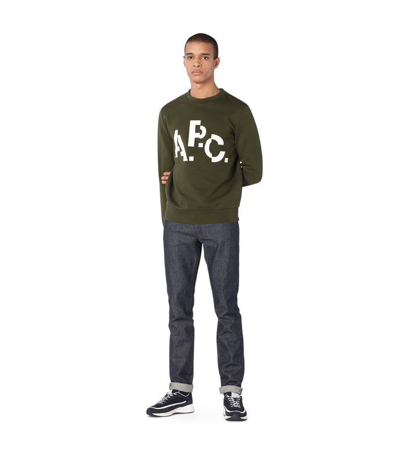 This is the Décalé sweatshirt product item. Style JAC-2 is shown.