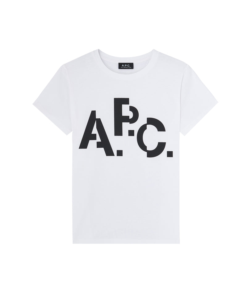 This is the Misaligned T-shirt product item. Style AAB-1 is shown.