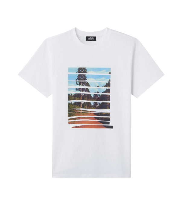 Terre Rouge T-shirt - AAB - White