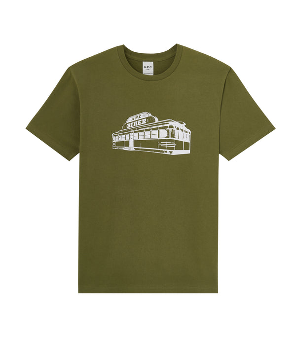 Bill T-shirt - JAA - Khaki green