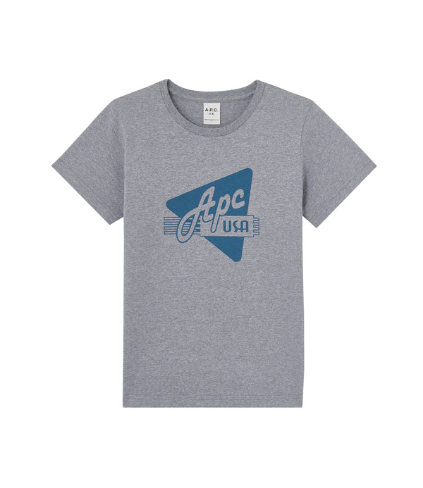Nicky T-shirt - LAB - Pale gray