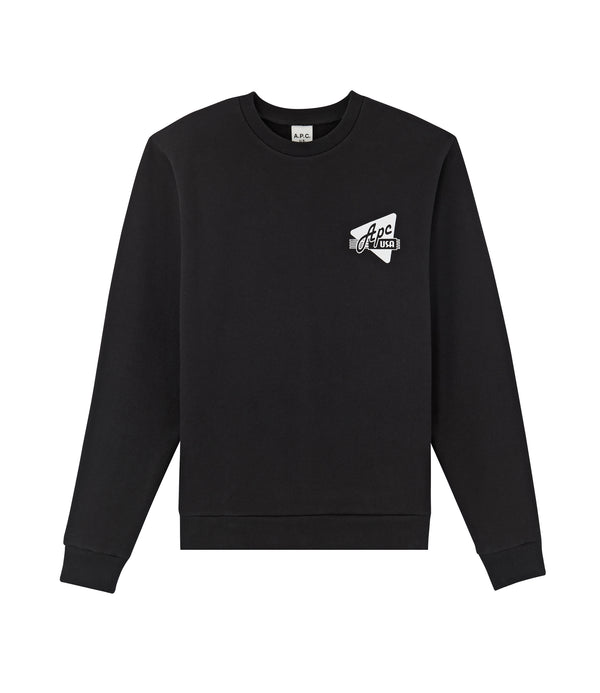 Abe sweatshirt - LZZ - Black