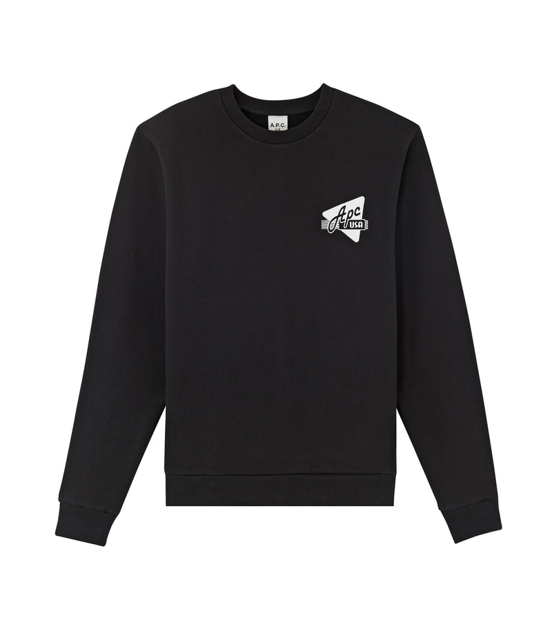 This is the Abe sweatshirt product item. Style LZZ-1 is shown.