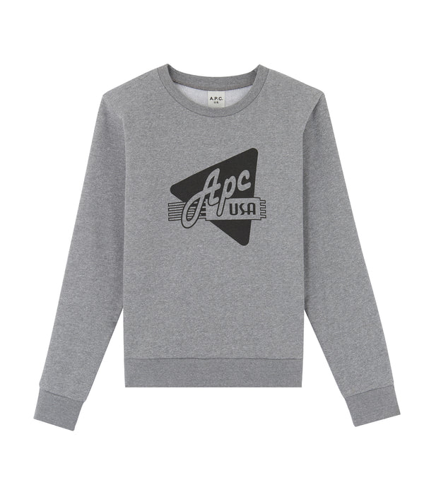 Asa sweatshirt - LAB - Pale gray