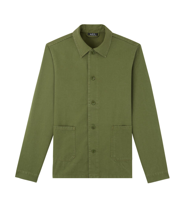 Kerlouan jacket - KAF - Dark green