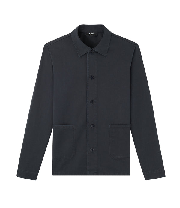 Kerlouan jacket - LZA - Near black
