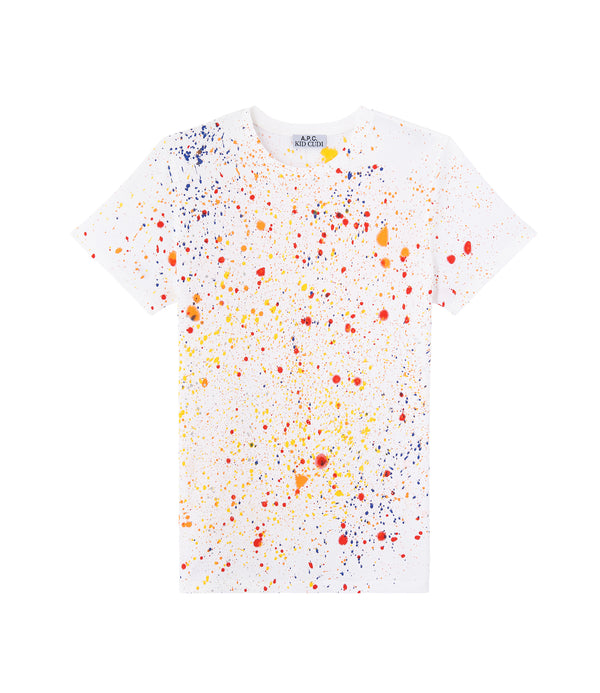 Splash T-shirt - AAB - White