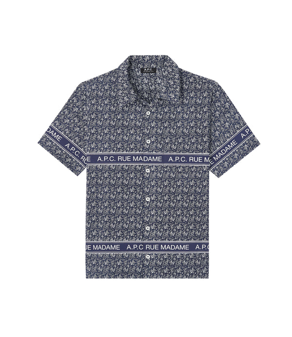 Logo short-sleeve shirt - IAK - Dark navy blue