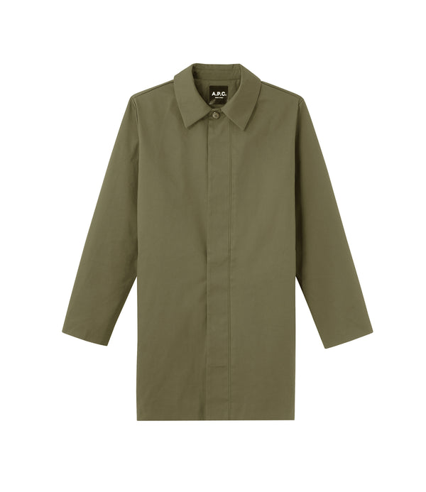 Novembre raincoat - JAC - Military khaki