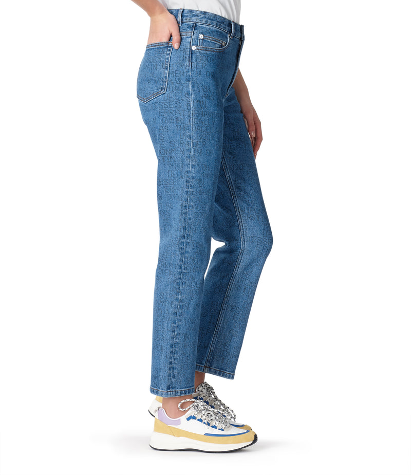 This is the Crypt jeans product item. Style IAA-4 is shown.