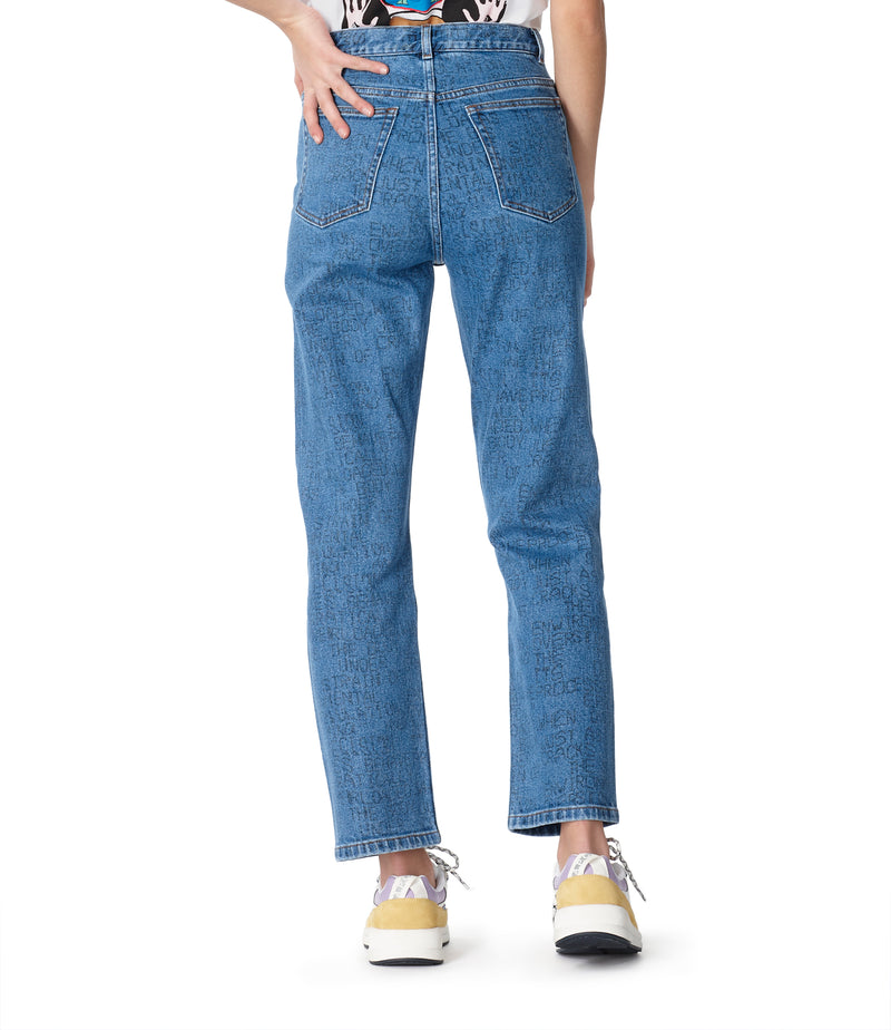 This is the Crypt jeans product item. Style IAA-5 is shown.