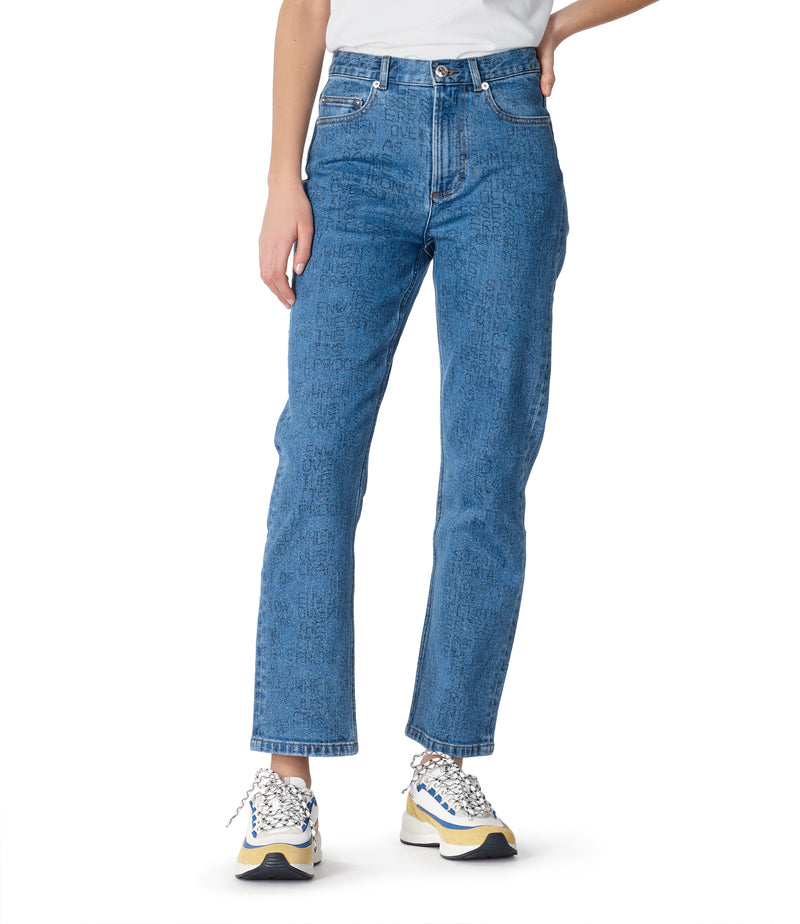 This is the Crypt jeans product item. Style IAA-6 is shown.