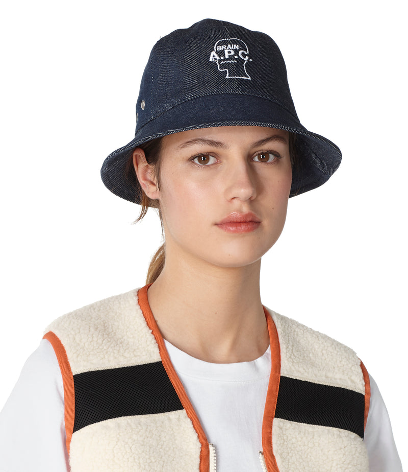 This is the Brain Dead bucket hat product item. Style IAL-2 is shown.