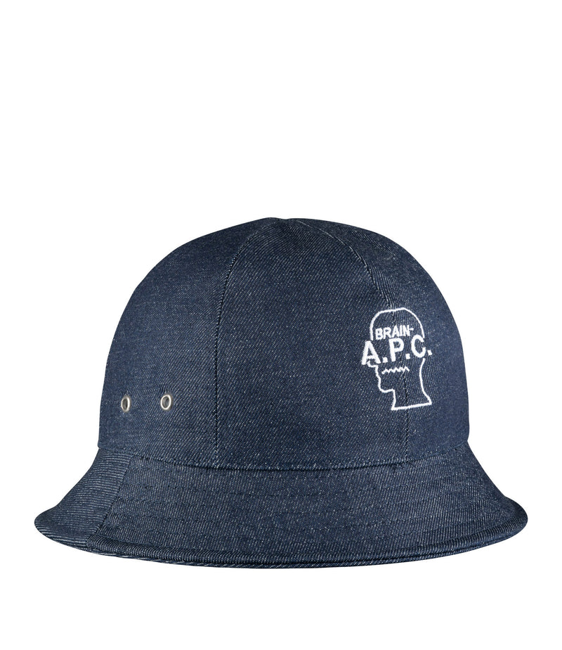 This is the Brain Dead bucket hat product item. Style IAL-1 is shown.
