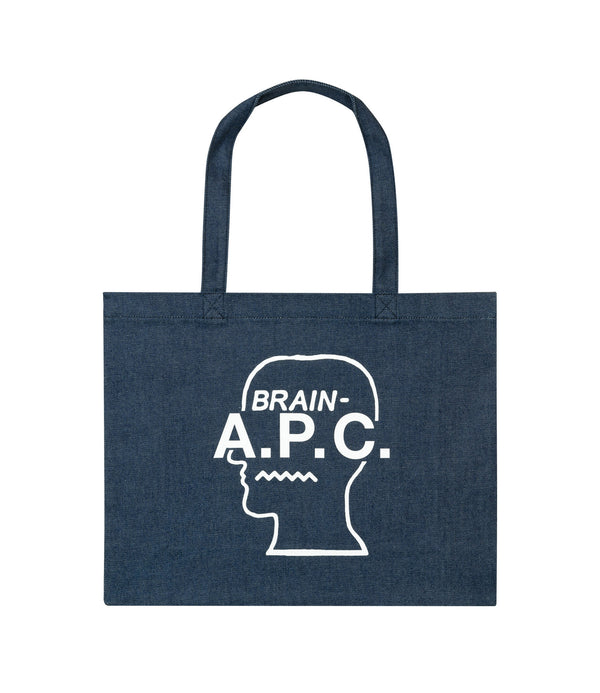Brain Dead shopping bag - AAB - White