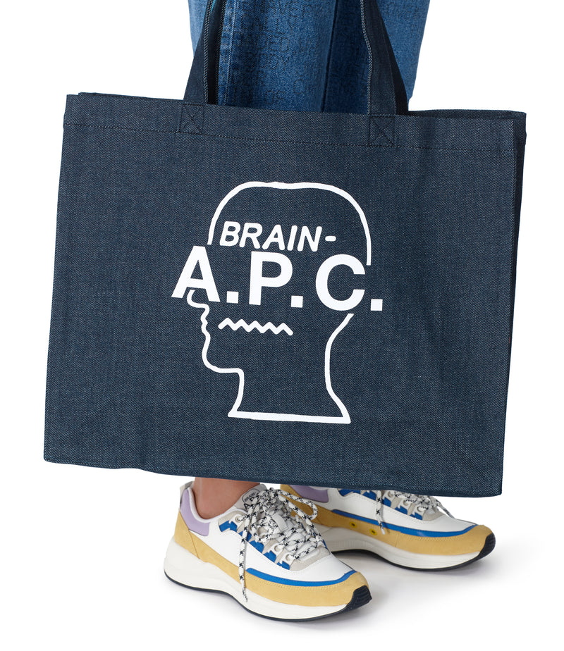 This is the Brain Dead shopping bag product item. Style Brain Dead shopping bag is shown.