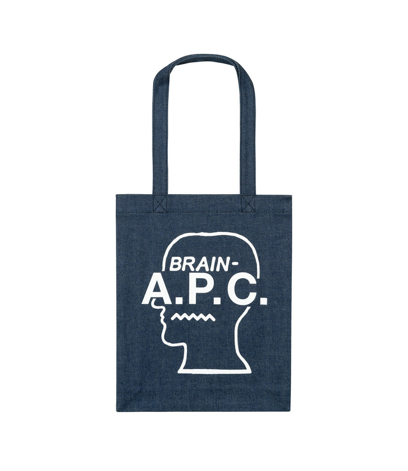 This is the Brain Dead tote bag product item. Style AAB-1 is shown.