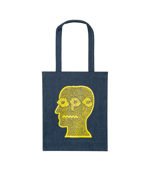 Brain Dead tote bag - DAA - Yellow