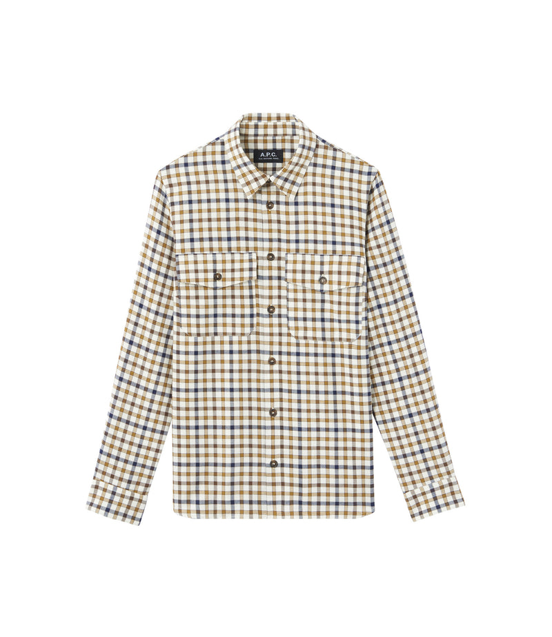 This is the Agnès shirt product item. Style AAD-1 is shown.