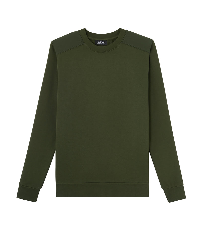 This is the Shoulders sweatshirt product item. Style JAC-1 is shown.