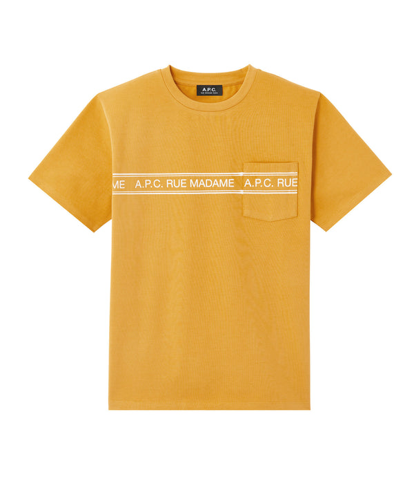 Rue Madame T-shirt - DAA - Yellow