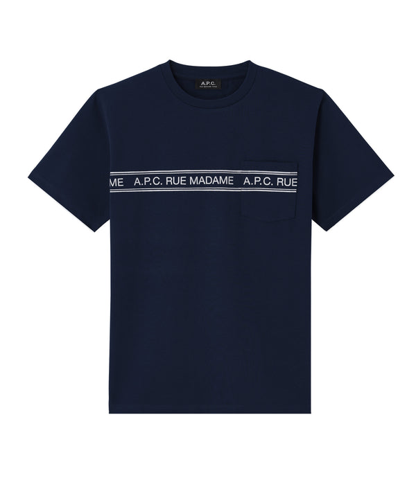 Rue Madame T-shirt - IAK - Dark navy blue