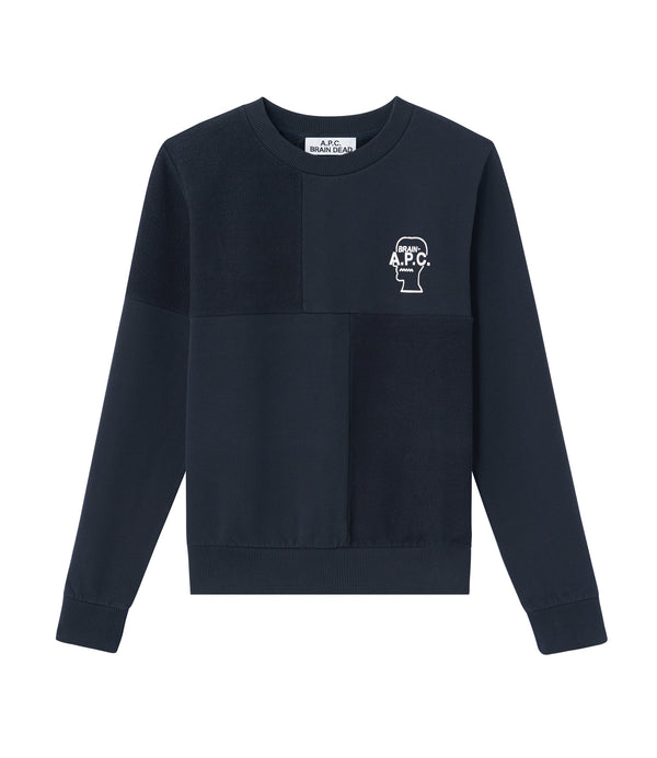 Pony sweatshirt - IAK - Dark navy blue