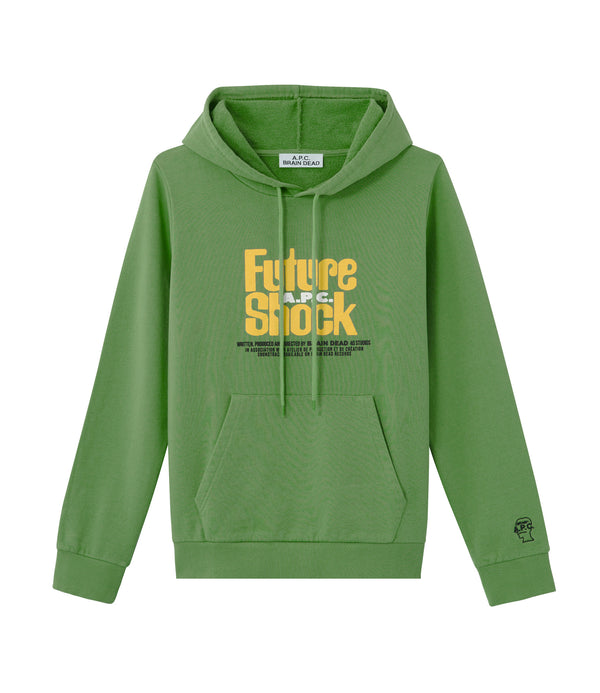 Spacy hoodie - KAA - Green