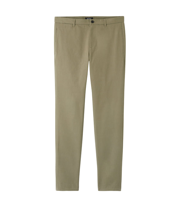 High chinos - JAA - Khaki green