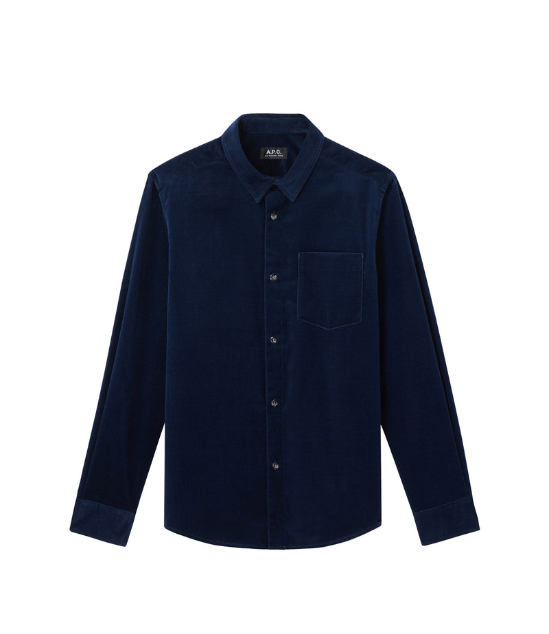 This is the John overshirt product item. Style IAJ-1 is shown.