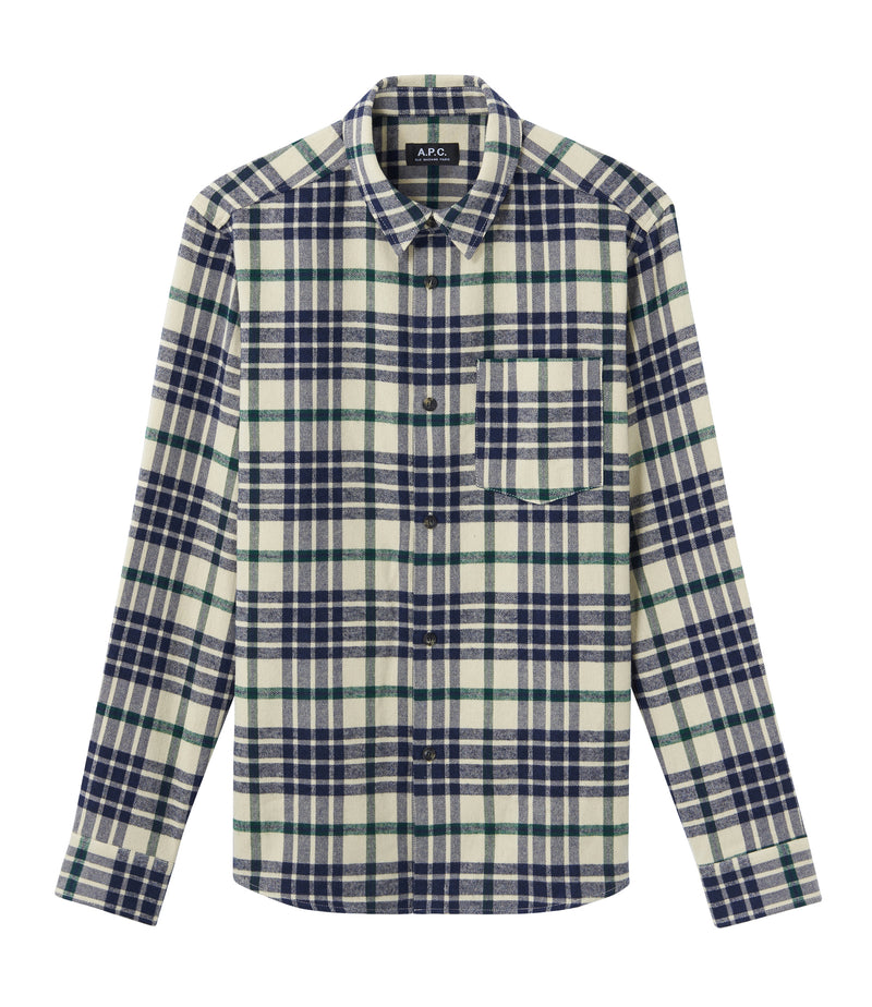 This is the John overshirt product item. Style AAD-1 is shown.