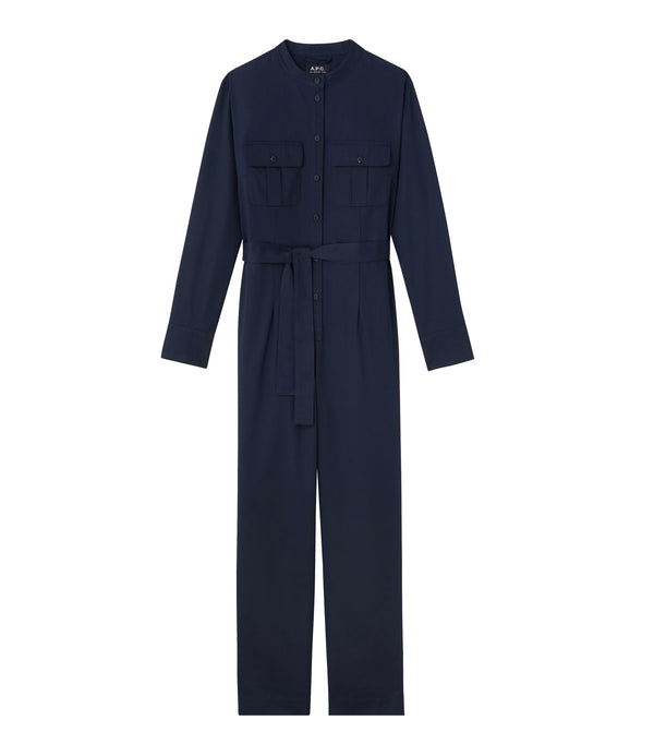 Eléonore jumpsuit - IAK - Dark navy blue