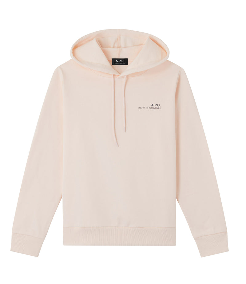 This is the Item hoodie product item. Style FAB-1 is shown.