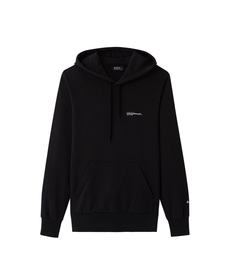 This is the Justin hoodie product item. Style LZZ-1 is shown.