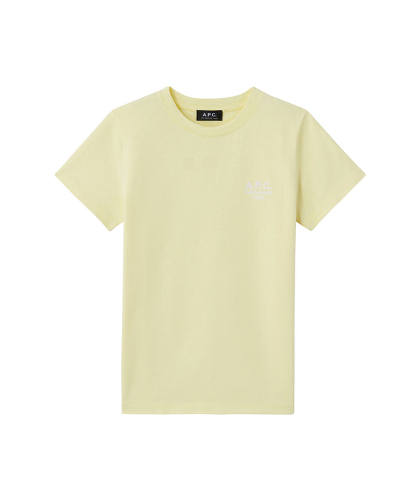 Denise T-shirt - DAB - Pale yellow
