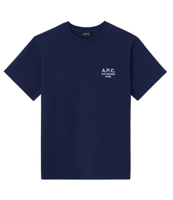 Raymond T-shirt - IAK - Dark navy blue