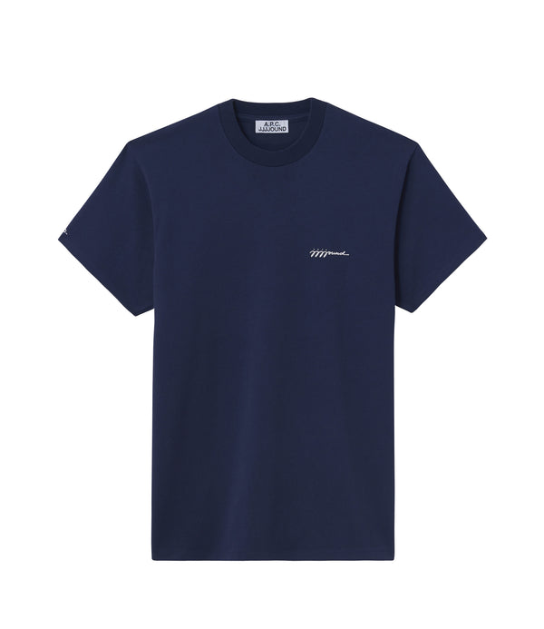 JJJJound T-shirt - IAK - Dark navy blue