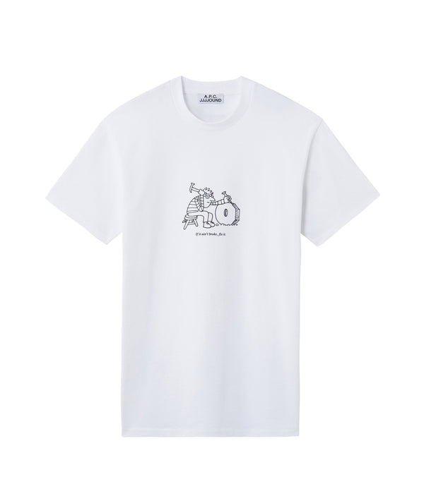 Rough T-shirt - AAB - White