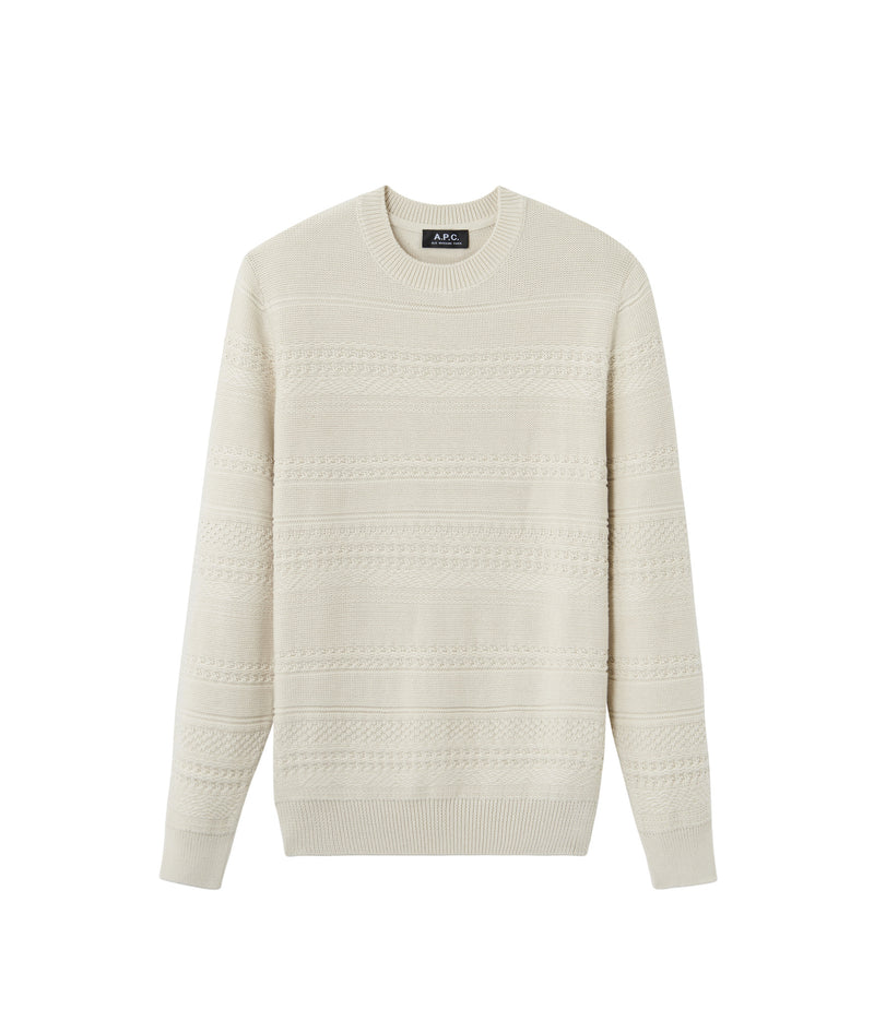 This is the Nicolas sweater product item. Style AAD-1 is shown.